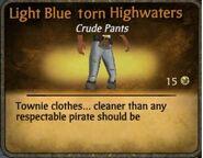 Torn highwaters