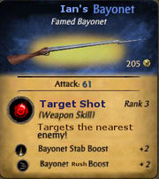 Ian's Bayonet