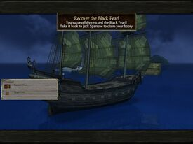 Black pearl recovered