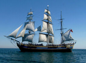Bounty tall ship