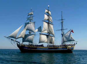 Bounty tall ship