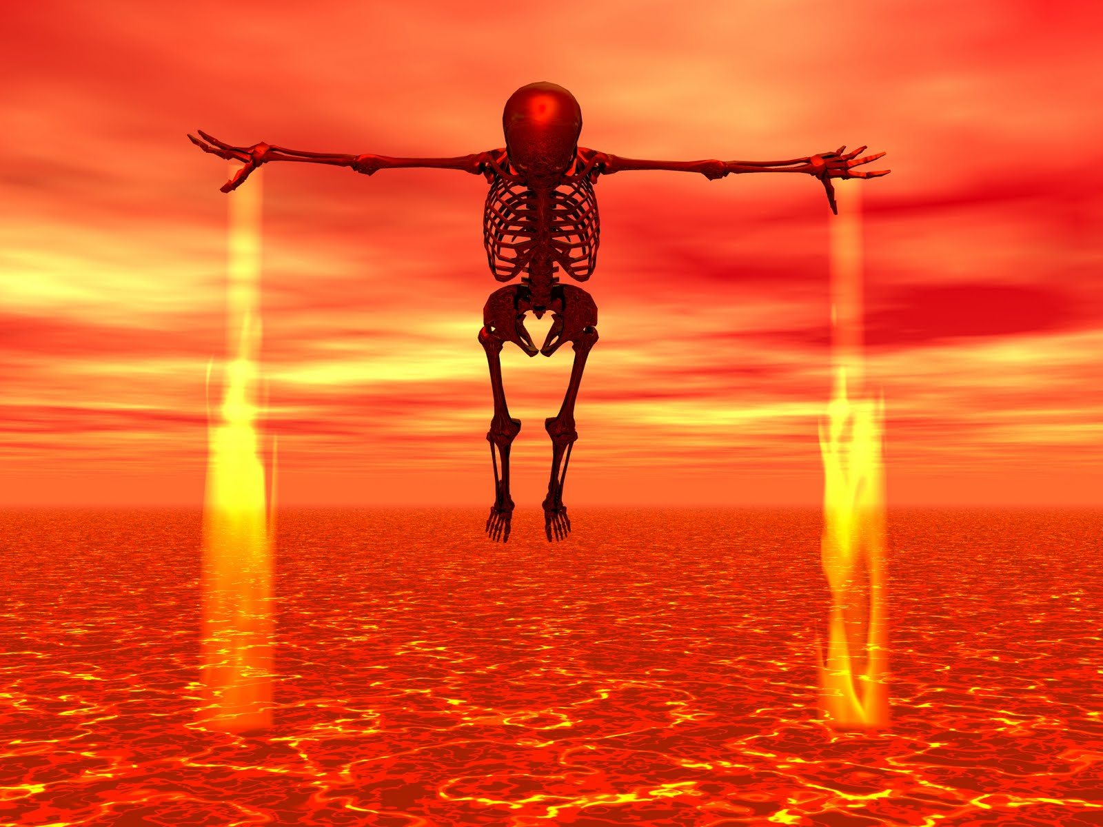 Hell, Lake of Fire