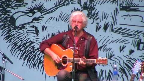 Arlo Guthrie - The City of New Orleans - Dunegrass 2008