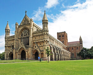 The Cathedral and Abbey Church of Saint Alban web