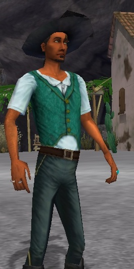 Shadow Green Shirt