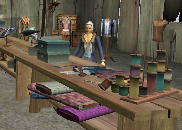 Tailor Blanca's Shop