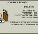 Doo Bie's Remains