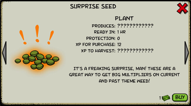 Surprise seed