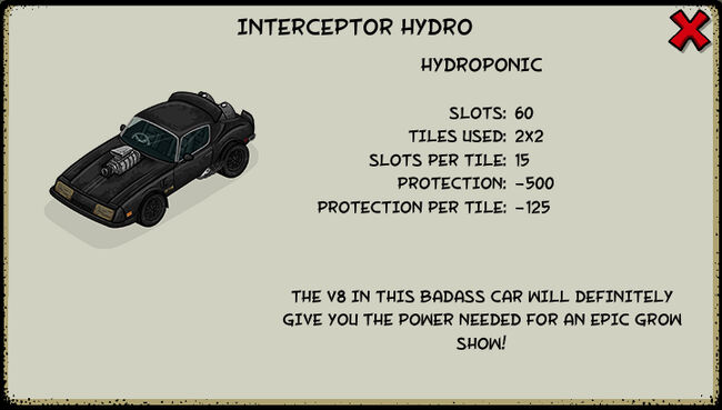 Interceptor hydro