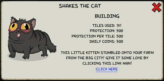 Shakes the cat