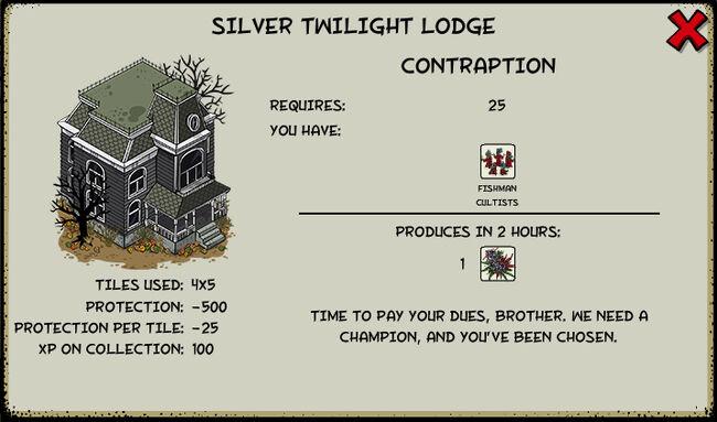Silver twilight lodge