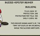 Buzzed Hipster Beaver