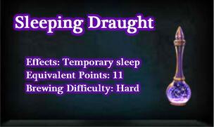 Sleepingdraught