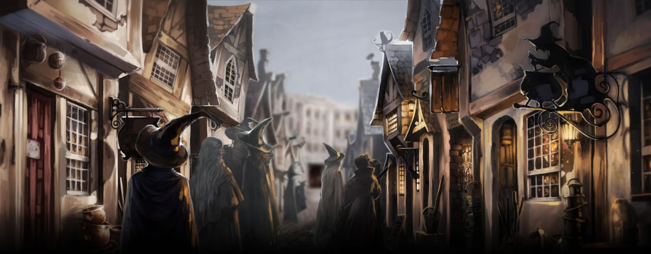 Image result for pottermore diagon alley