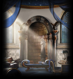 Ravenclaw common room cropped