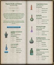 Magical Drafts and Potions