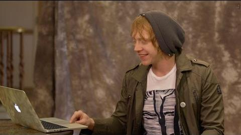 Rupert Grint sorted on Pottermore