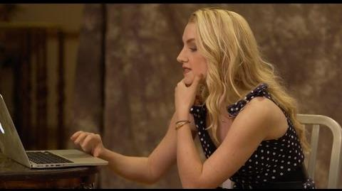 Evanna Lynch sorted on Pottermore