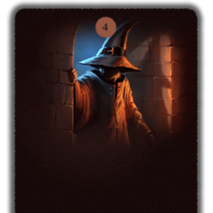 Withdraw into the shadows to await developments, while mentally reviewing the most appropriate defensive and offensive spells, should trouble occur?