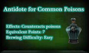 Antidotecommonpoisons