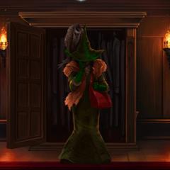 …dressed as Neville's Gran