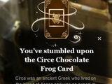Circe Chocolate Frog Card