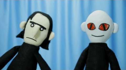 Potter Puppet Pals Mustache Buddies