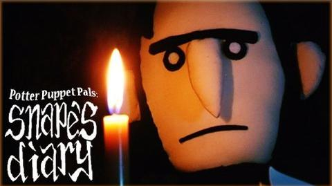 Potter Puppet Pals Snape's Diary
