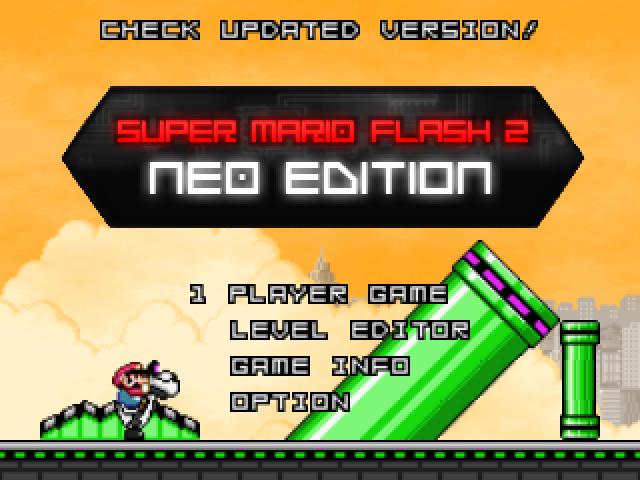 super mario flash 2 casino edition