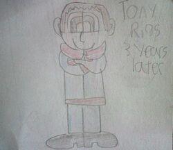 Tony Rigs 3 years later
