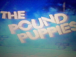 Pound Puppies Title Screen