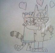 Bright Eyes Hugging Igor