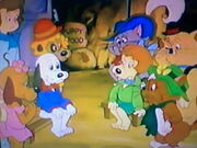 The Pound Puppies, The Mouseketeers, and Holly