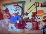 The Pound Puppies and Pal