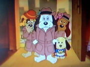 Pound Puppies at Bark and Growl Cafe