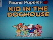 Kid in the Doghouse Title Screen