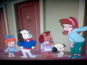 Holly, Teensy, and the Pound Puppies