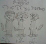 Title Card for the Three Pooches