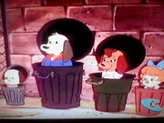 Pound Puppies in hiding 2