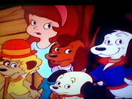 Amazed Holly and Pound Puppies