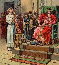 David svira kralju šaulu
