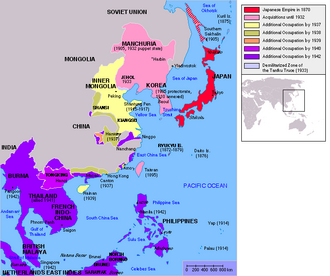 Mapa japana