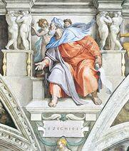 Ezekijel u Sikstinskoj kapeli