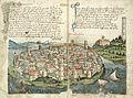120px-Konrad von Grünenberg - Beschreibung der Reise von Konstanz nach Jerusalem - Blatt 08v-09r