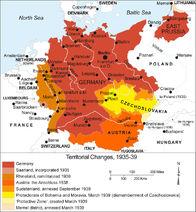 Njemačko proširenje uoči rata