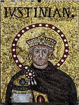 Mosaic of Justinian I - Sant'Apoilinare Nuovo - Ravenna 2016
