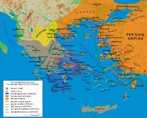 Karta grčko-perzijskih ratova
