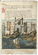 Konrad von Grünenberg - Beschreibung der Reise von Konstanz nach Jerusalem - Blatt 8r - 021