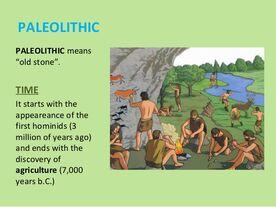 Paleolitik