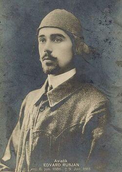 375px-Edvard Rusjan 1911